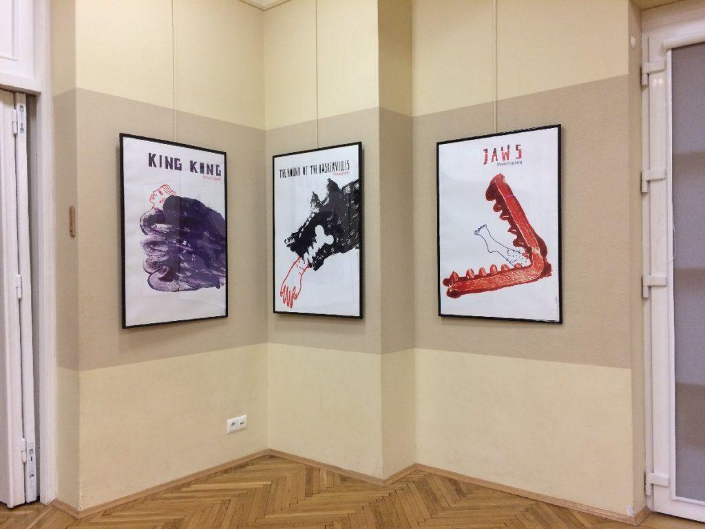 Wystawa Plakatu Filmowego Prof. S. Kubicy