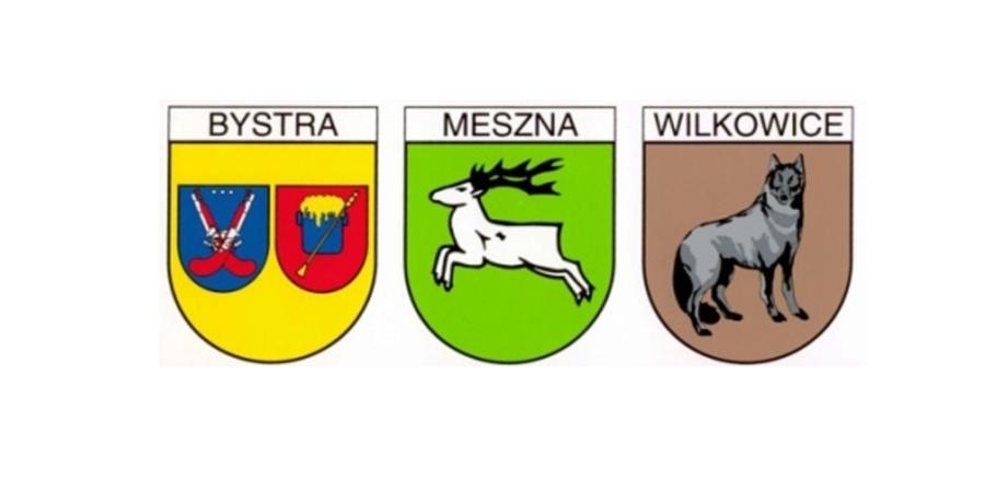 Herb Bystrej, Mesznej oraz Wilkowic