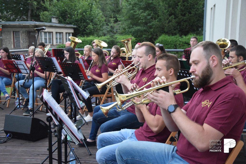Koncert Gminnej Młodzieżowej Orkiestry Dętej