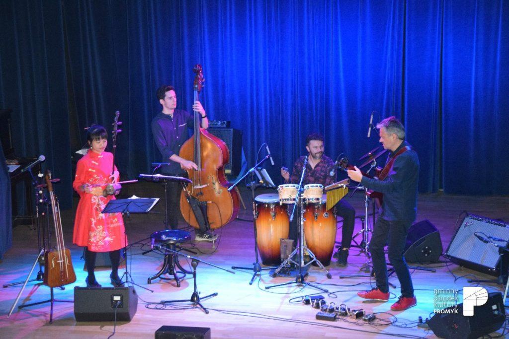 Koncert Przemek Strączek&Chiao-Hua Chang Quartet